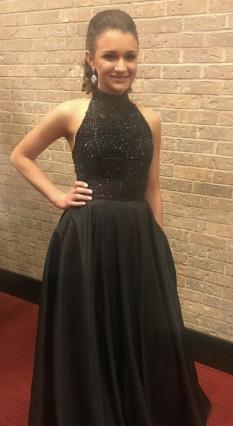 Black Sherri Hill Gown