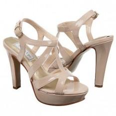 Nude Platform Heels [Queenie By Touch-Ups]