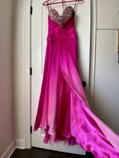 Pink Ombré Dress by Jovani
