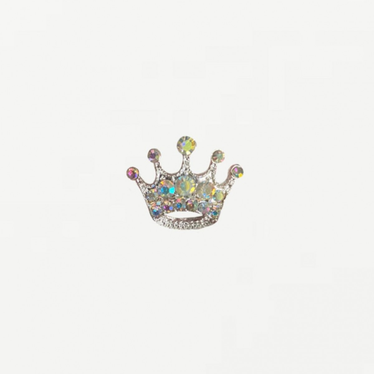 Crown Princess: Magnet for Pageant Contestant Numbers, Sashes, Name Tags, Race Bibs; Super Strong Bling Magnet from The Queen's Magnet