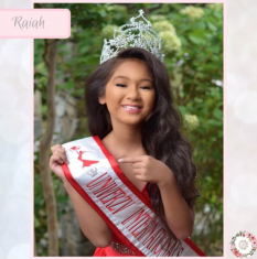 Trinity Crown: Magnet for Pageant Contestant Numbers, Sashes, Name Tags, Race Bibs; Super Strong Bling Magnet from The Queen's Magnet