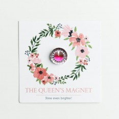 Rose Queen: Magnet for Pageant Contestant Numbers, Sashes, Name Tags; Super Strong Bling Magnet from The Queen's Magnet