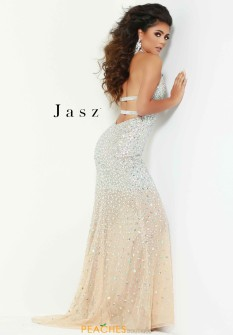 Jasz Couture Long Beaded Dress