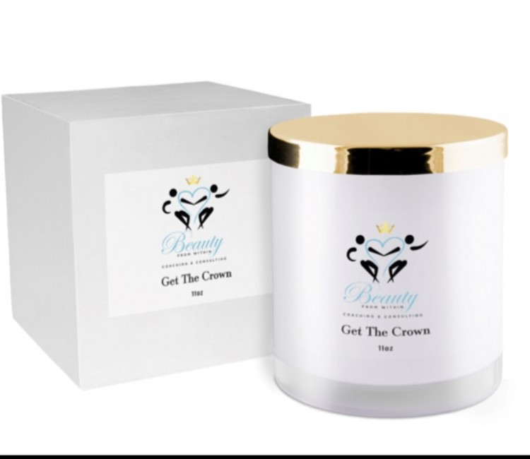 Get The Crown Luxury Vegan Glam Signature Scented Candle