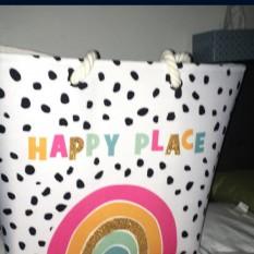 Happy place bag