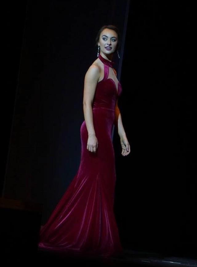 Velvet Custom Gown | Fernando Wong