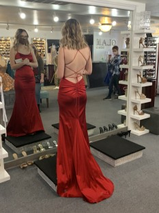 Red Miss Pageant Dress by Sherri Hill