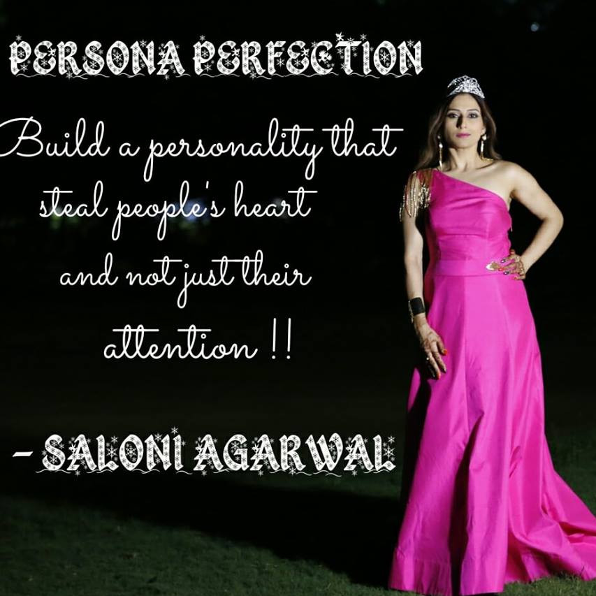 Persona Perfection by Saloni Agarwal