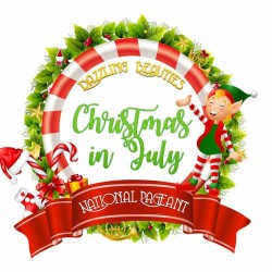 """Dazzling Beauties """"Christmas in July"""" Nationals"""