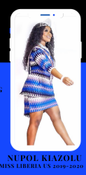 Miss Liberia in the US Pageant