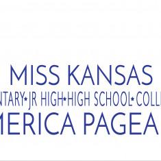 Miss Kansas Elementary, Jr High, High School & Collegiate America